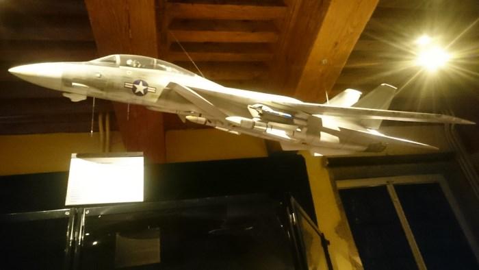 Musée miniature et cinéma de Lyon - Maquette de l'avion mythique de Top Gun