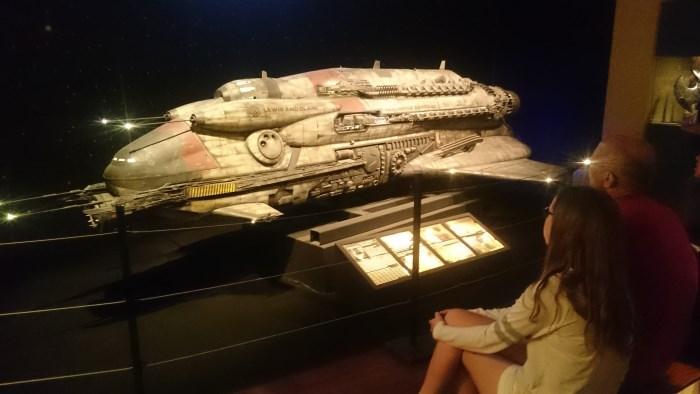 Musée miniature et cinéma de Lyon - Maquette du Lewis & Clark du film Event Horizon