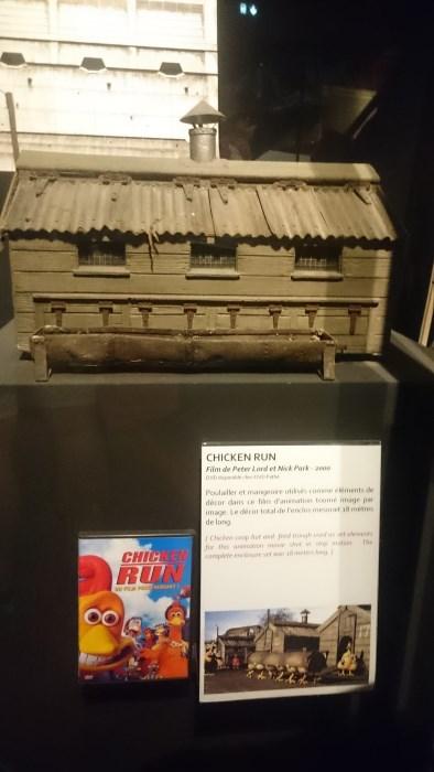 Musée miniature et cinéma de Lyon - Maquette du poulailler de Chicken Run