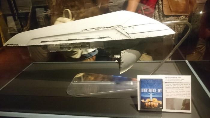 Musée miniature et cinéma de Lyon - Maquette d'un vaisseau d'Independence Day