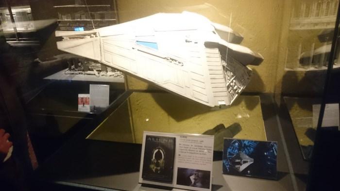 Musée miniature et cinéma de Lyon - Maquette d'un vaisseau du film Alien