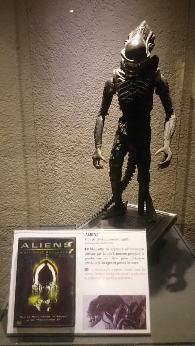 Musée miniature et cinéma de Lyon - Maquette pour le film Alien