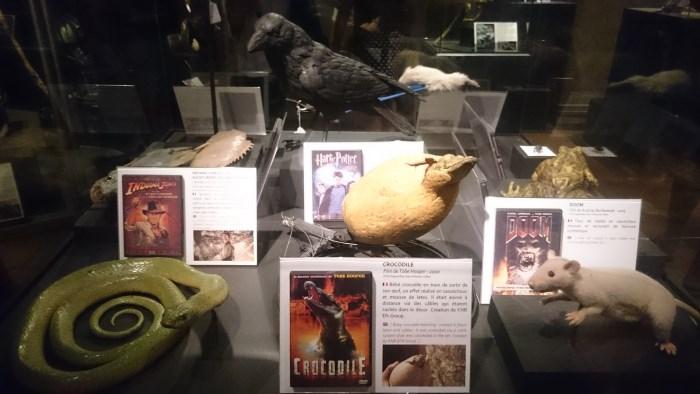 Musée miniature et cinéma de Lyon - Maquettes de différents objets des films Indiana Jones, Doom ou Harry Potter