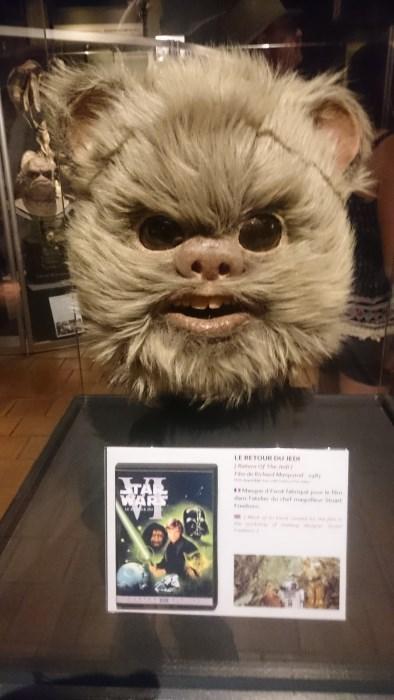 Musée miniature et cinéma de Lyon - Masque d'un Ewok de Star Wars