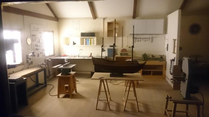 Musée miniature et cinéma de Lyon - Miniature d'atelier de maquettiste