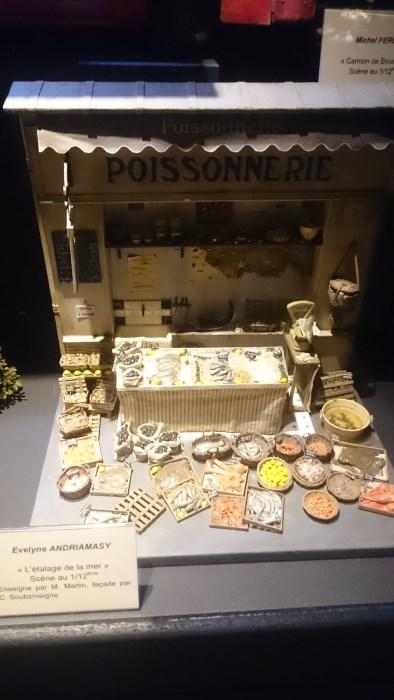Musée miniature et cinéma de Lyon - Miniature d'une poissonnerie