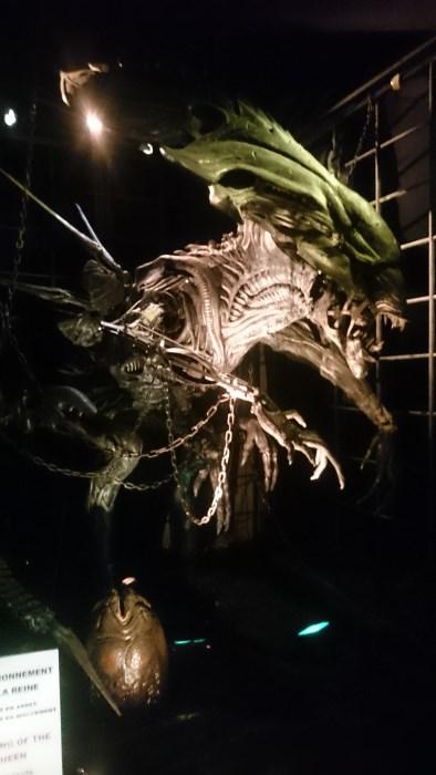 Musée miniature et cinéma de Lyon - Statue articulée de la reine Alien