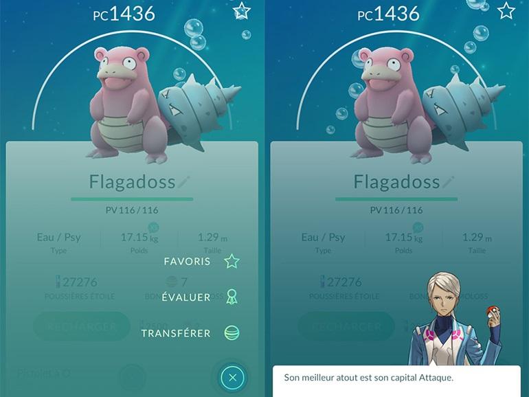 Pokemon Go Mise à jour 0.35.0 Android et 1.5.0 sur iOS - Évaluation des Pokémon
