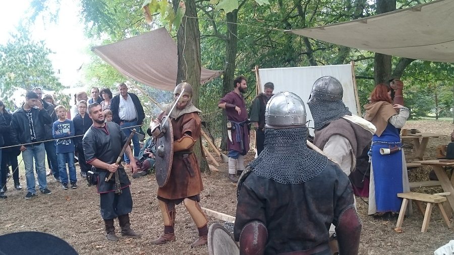 Festival Yggdrasil Lyon - Combat viking 1
