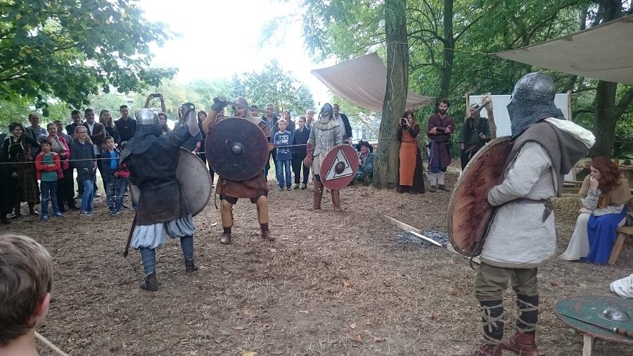Festival Yggdrasil Lyon - Combat viking 2