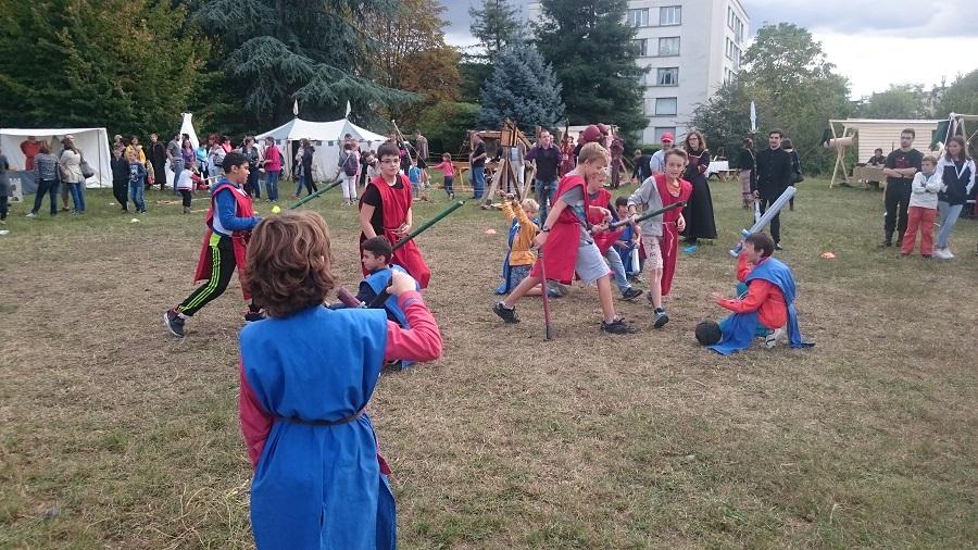 Festival Yggdrasil Lyon - Match de trollball