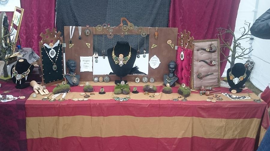 Festival Yggdrasil Lyon - Stand bijoux 1