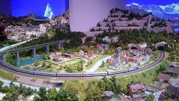 Miniworld à Lyon - Découverte, visite et avis - La montagne - 3