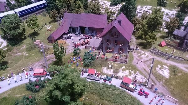 Miniworld à Lyon - Découverte, visite et avis - La montagne - 4