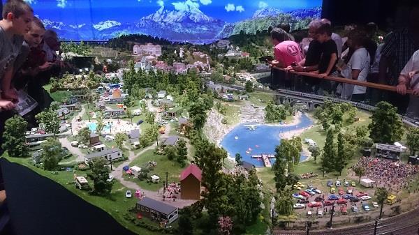 Miniworld à Lyon - Découverte, visite et avis - La montagne - 7