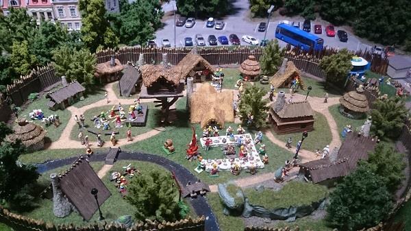 Miniworld à Lyon - Découverte, visite et avis - Les petits détails - Le village d'Astérix