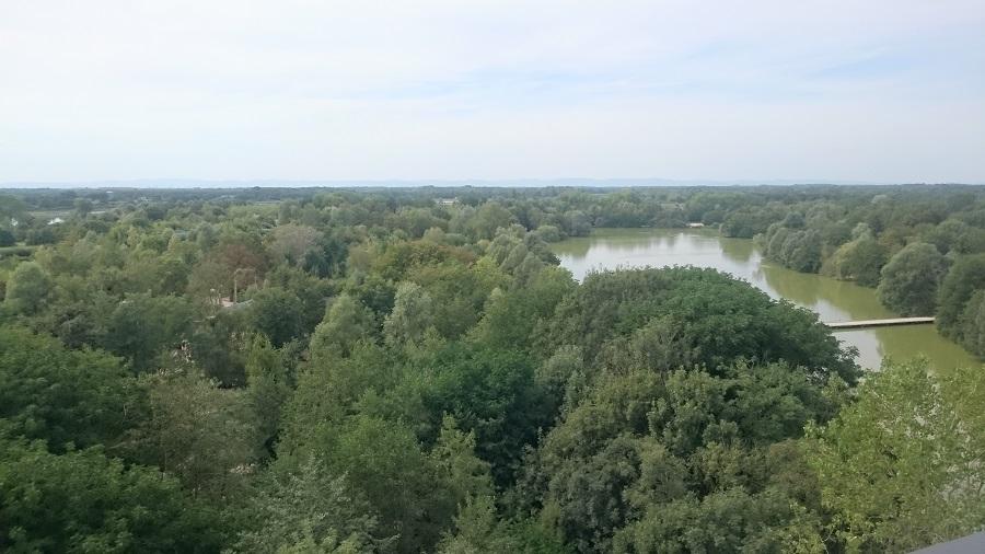 Parc aux oiseaux Villars Les Dombes - découverte avis et visite - La tour panoramique 1