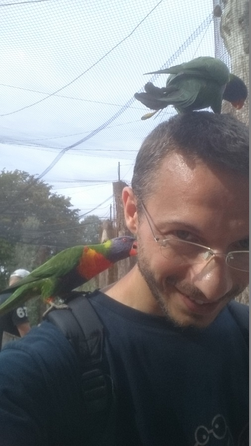 Parc aux oiseaux Villars Les Dombes - découverte avis et visite - La volière des Loris 1