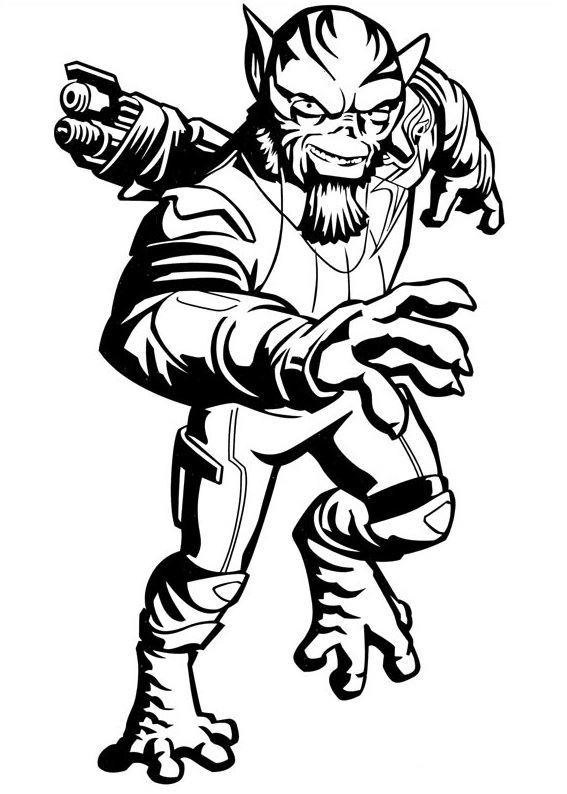 Coloriage et dessins Star Wars Rebels - Coloriage de Zed