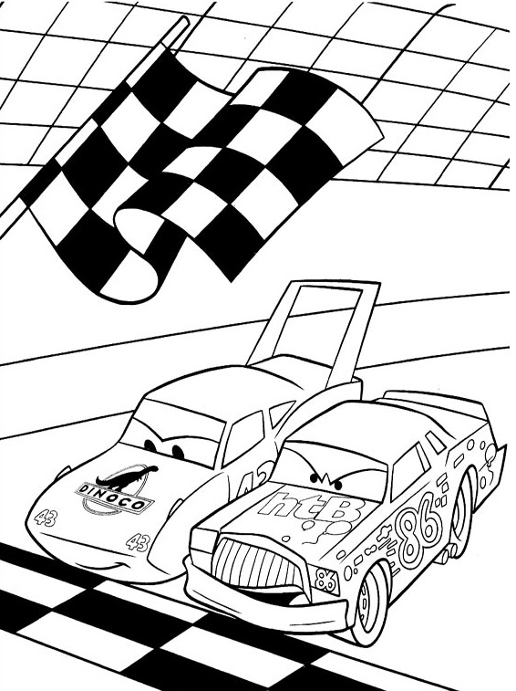 Coloriages Cars et dessins Cars 2