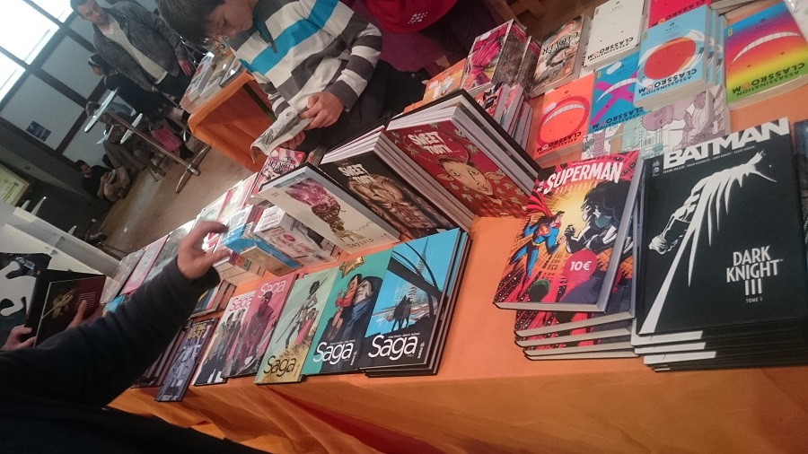 Festival de bande dessinée de la bulle d'or - Bandes dessinées dans les allées 1