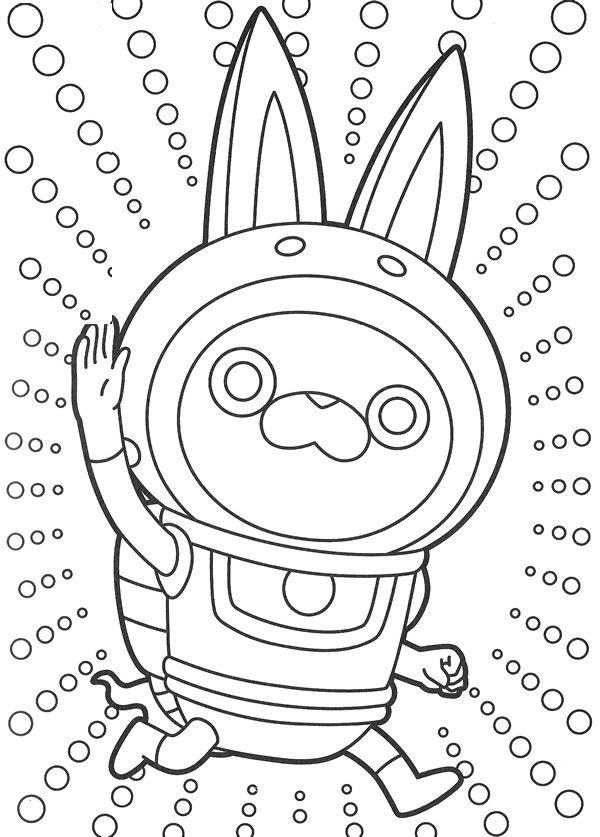 Coloriage Yo-Kai Watch - Divers 2