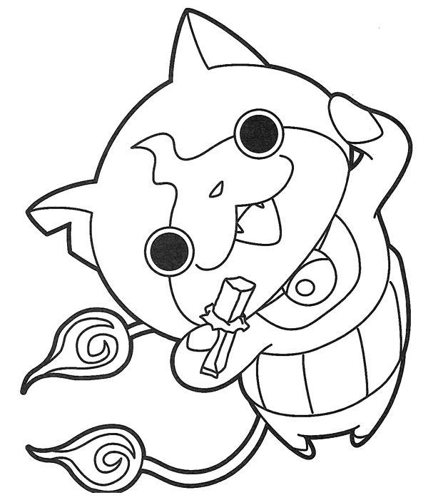 Coloriages Yo-Kai Watch et dessins à imprimer