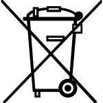 comprendre les symboles, sigles et logos du recyclage - Poubelle barrée