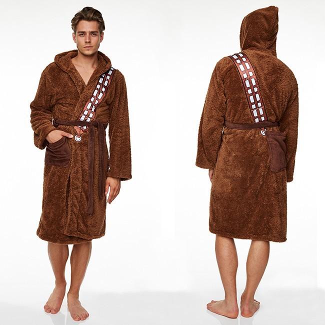 Choix de cadeau de fête des pères - Peignoir Chewbacca