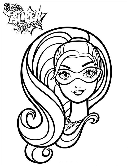 Coloriages de barbie imprimer et t l charger - Dessin de barbie sirene ...