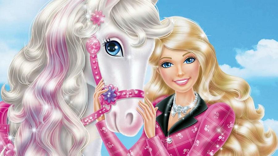 Coloriage A Imprimer Princesse Qui Vole.Coloriages De Barbie A Imprimer Et Telecharger