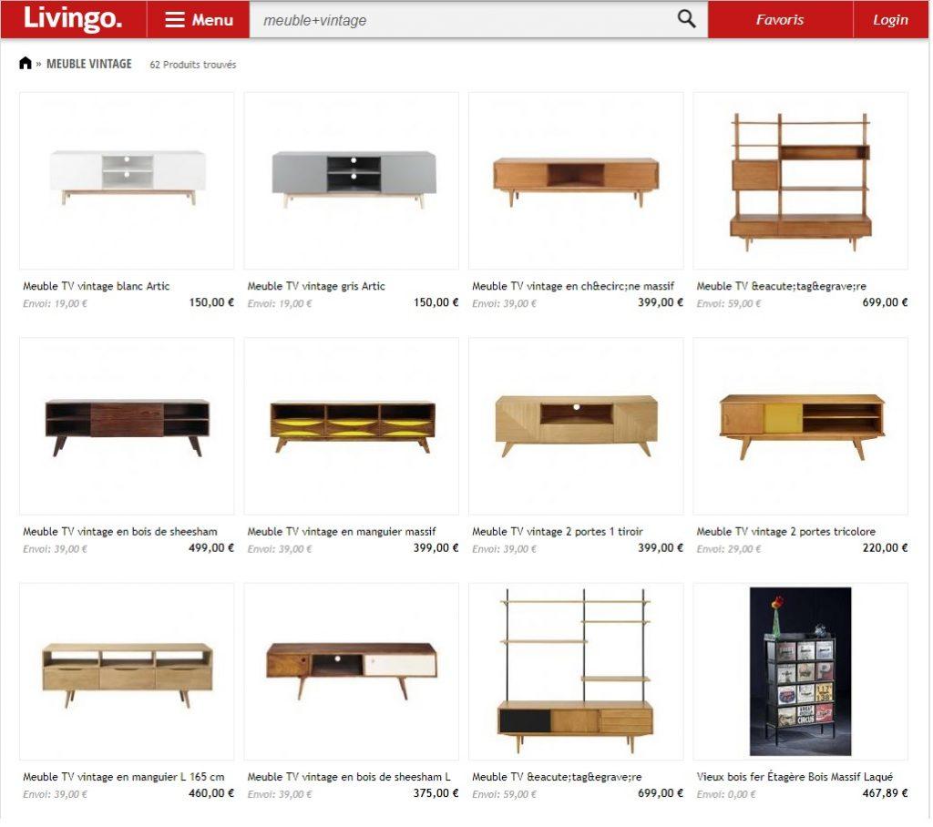 Livingo – Avis d'un site de meubles avec tout pour ta maison