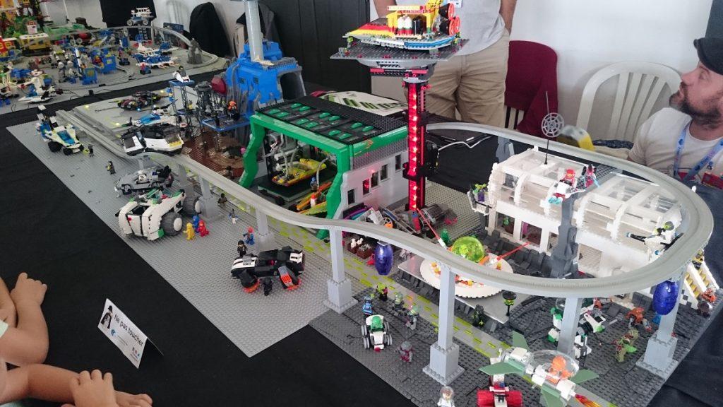 Lego MOC – Exposition Briqu'expo à Lyon - Base spatiale
