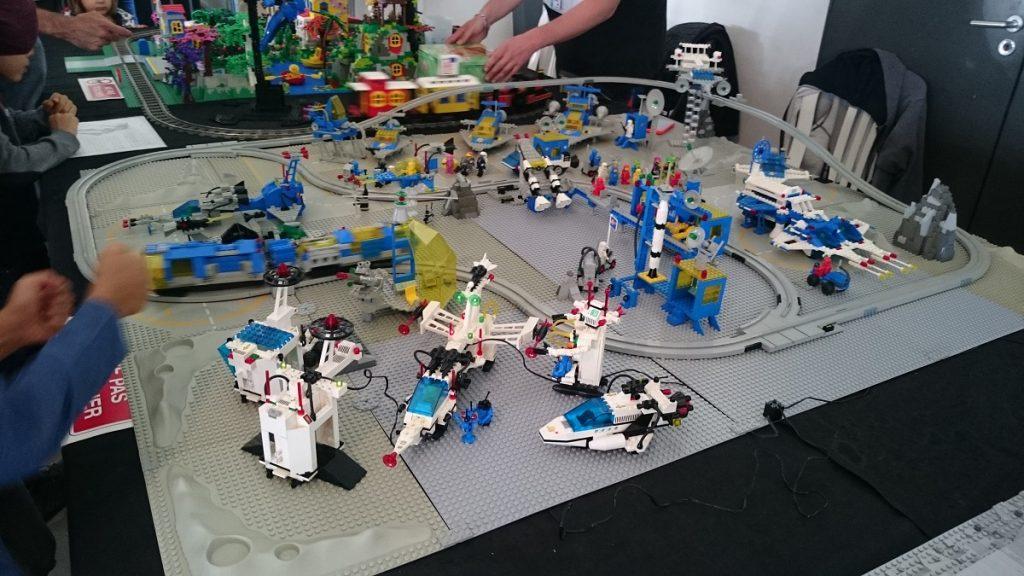 Lego MOC – Exposition Briqu'expo à Lyon - Base spatiale 2