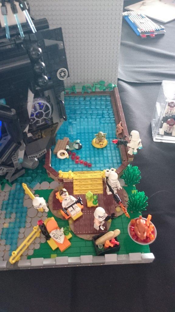 Lego MOC – Exposition Briqu'expo à Lyon - Camping Wars 3