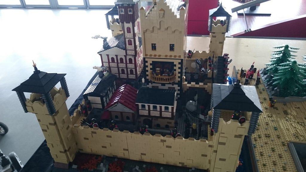 Lego MOC – Exposition Briqu'expo à Lyon - Château fort 2