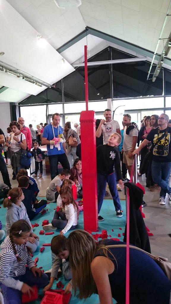 Lego MOC – Exposition Briqu'expo à Lyon - Construction libre enfants