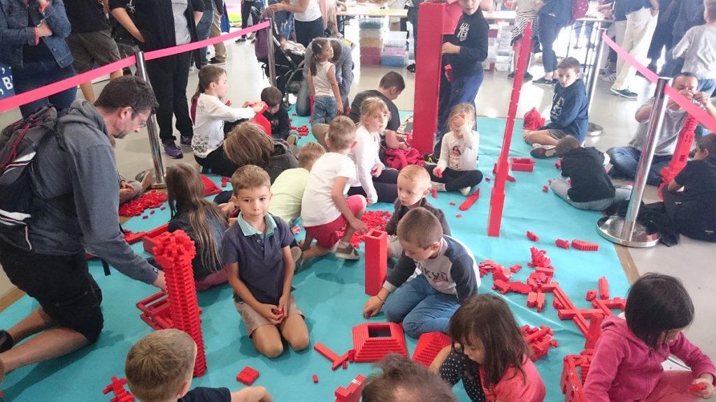 Lego MOC – Exposition Briqu'expo à Lyon - Construction libre pour les enfants