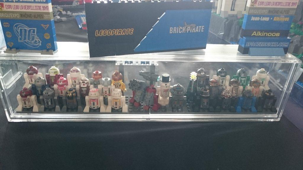 Lego MOC – Exposition Briqu'expo à Lyon - Droïds Star Wars