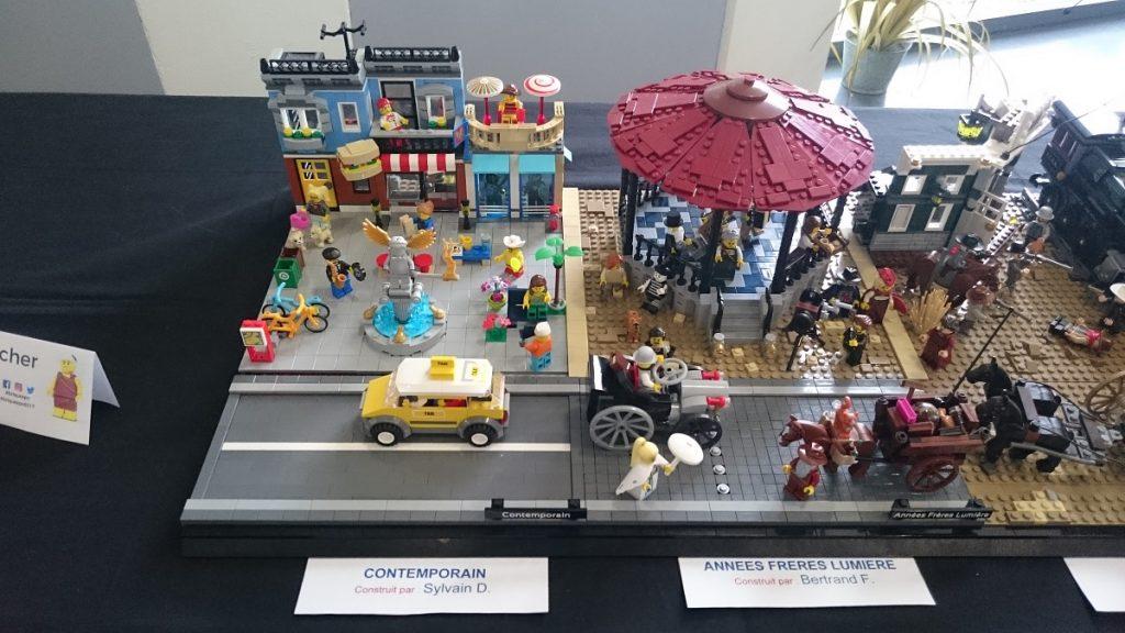 Lego MOC – Exposition Briqu'expo à Lyon - Frères Lumière et contemporain
