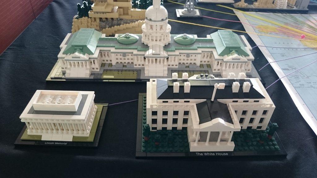 Lego MOC – Exposition Briqu'expo à Lyon - La maison blanche