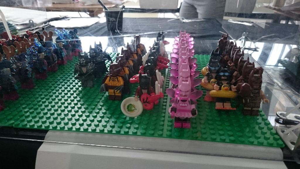 Lego MOC – Exposition Briqu'expo à Lyon - Mini figurines série Batman