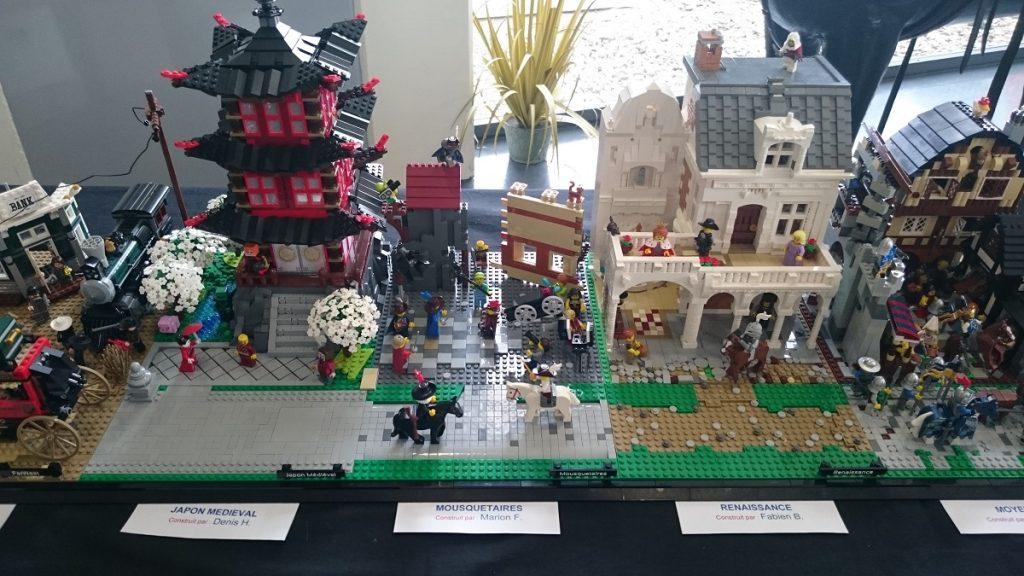Lego MOC – Exposition Briqu'expo à Lyon - Mousquetaires et Japon Médiéval