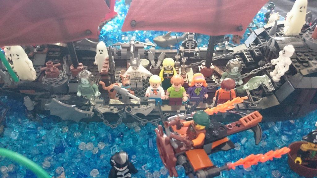 Lego MOC – Exposition Briqu'expo à Lyon - Pirates et Scooby Doo