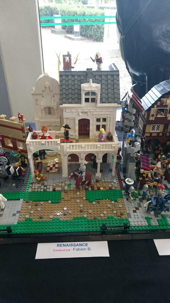 Lego MOC – Exposition Briqu'expo à Lyon - Renaissance