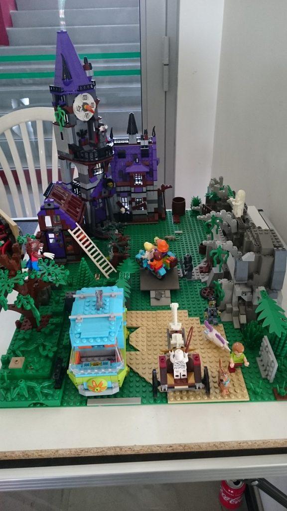 Lego MOC – Exposition Briqu'expo à Lyon - Scène Scooby Doo 1