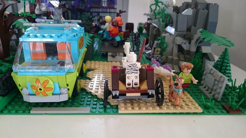 Lego MOC – Exposition Briqu'expo à Lyon - Scène Scooby Doo 2