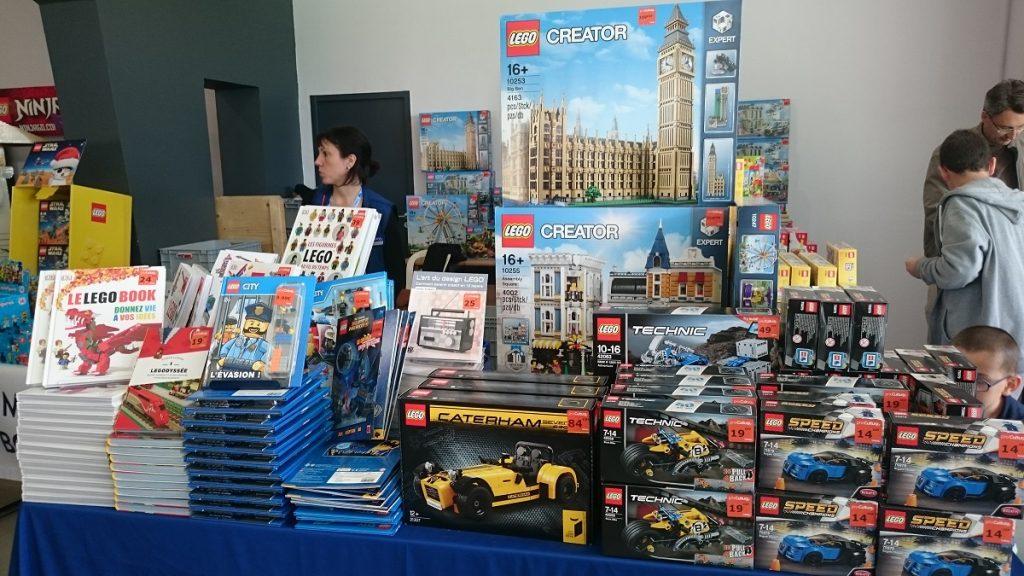 Lego MOC – Exposition Briqu'expo à Lyon - Stand Cultura 1