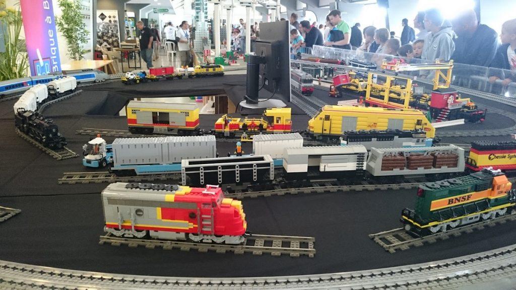 Lego MOC – Exposition Briqu'expo à Lyon - Train Lego 3