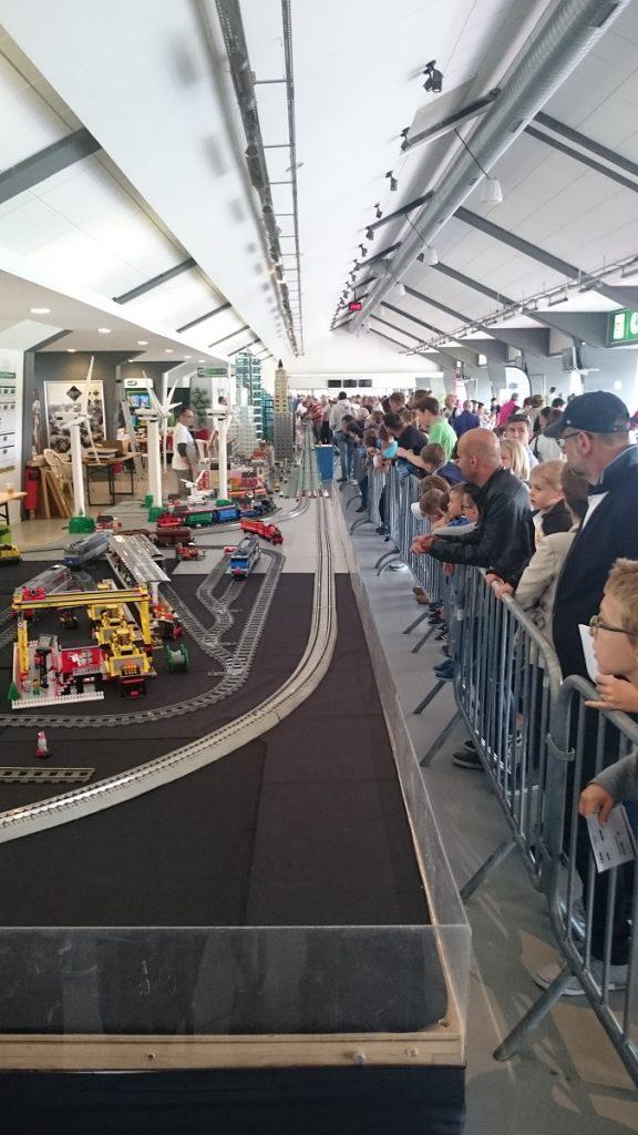 Lego MOC – Exposition Briqu'expo à Lyon - Train Lego 2